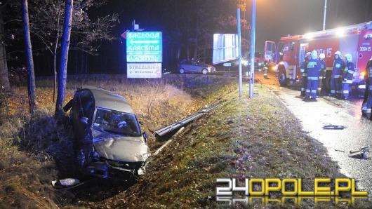 Dwa auta zderzyły się na ul. Strzeleckiej