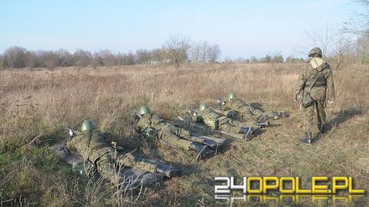 Żołnierze rezerwy szkolą się na poligonie w Winowie