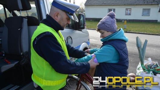 3500 odblasków trafi do mieszkańców Opolszczyzny