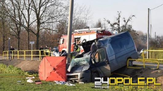 Kierowca busa spowodował tragiczny wypadek w Brzegu. Miał 3 promile!