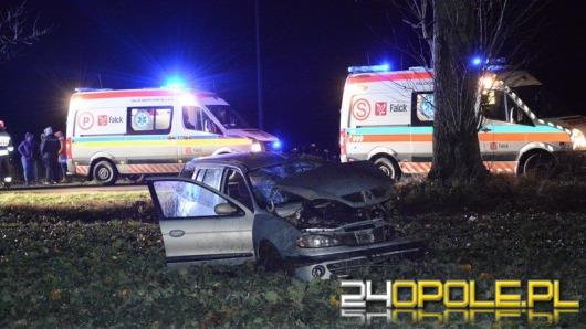 Cztery osoby ranne po wypadku w Skorogoszczy