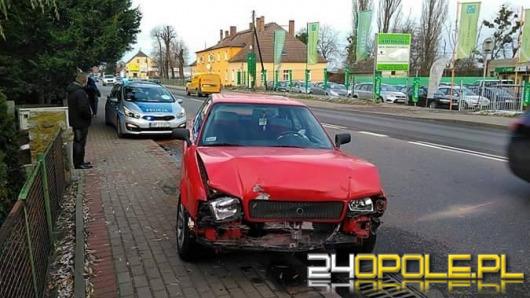 Kolizja w Kędzierzynie-Koźlu, uszkodzone 3 pojazdy