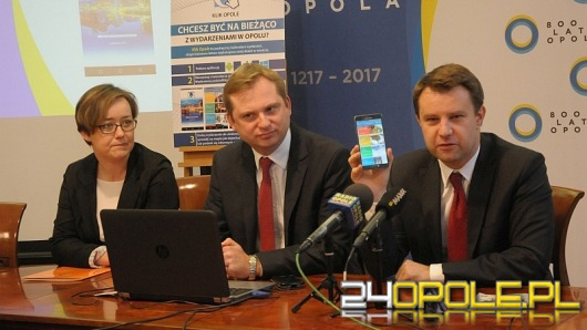 """Ratusz przygotował mobilne kalendarium """"Klik Opole"""""""