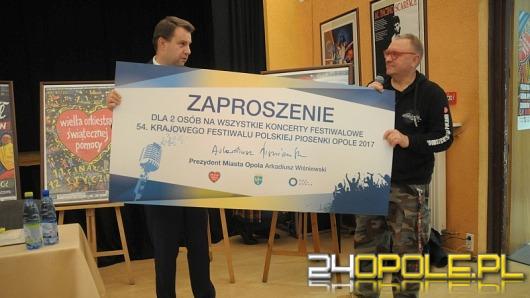 """Jurek Owsiak w Opolu: """"W trakcie 25. Finału zagrajmy wszyscy razem!"""""""