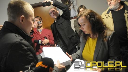 Przeciwnicy Dużego Opola złożyli petycje u wiceministra Jakiego