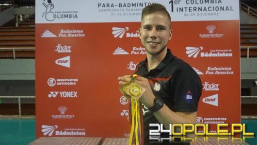 Niepełnosprawny sportowiec wrócił z Kolumbii z dwoma medalami