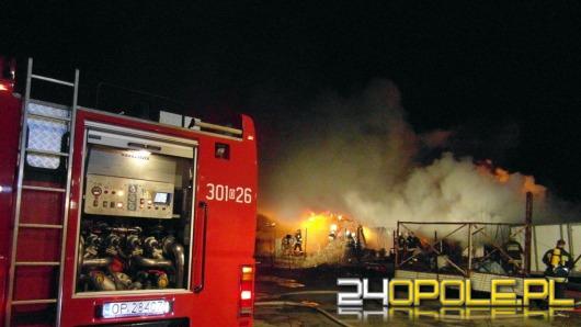 Pożar magazynu przy ul. Torowej