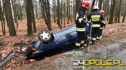 12-latek ranny w wyniku dachowania w Kotlarni