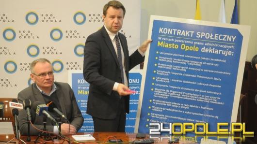 """Arkadiusz Wiśniewski: """"Powiększone Opole funkcjonuje bez problemów"""""""