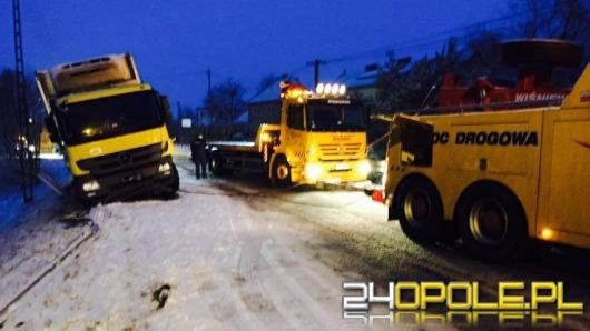 Trzy pojazdy zderzyły się pod Olesnem