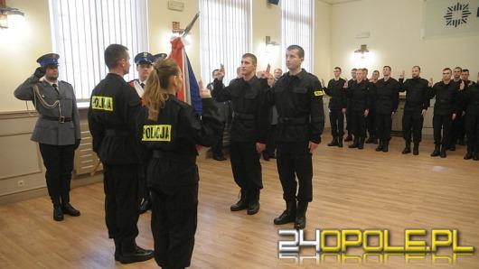 Opolszczyzna ma 28 nowych policjantów