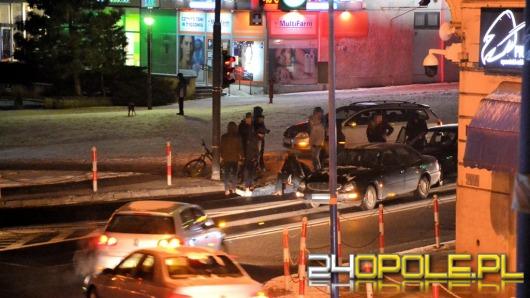 Pijany rowerzysta wjechał pod samochód na ul. Reymonta
