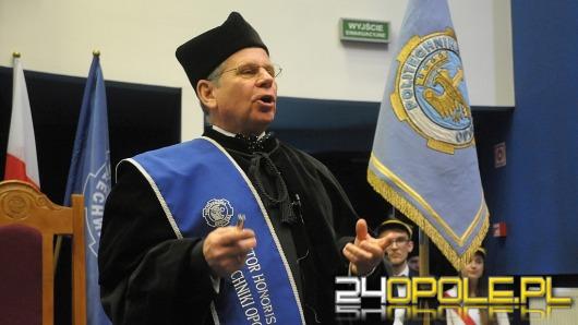 Profesor Janusz Mroczka doktorem honoris causa Politechniki Opolskiej