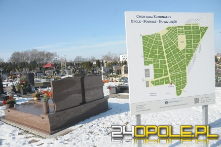 Trwa rozbudowa cmentarza na Półwsi