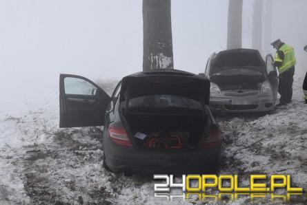 Cztery auta i autobus zderzyły się we mgle