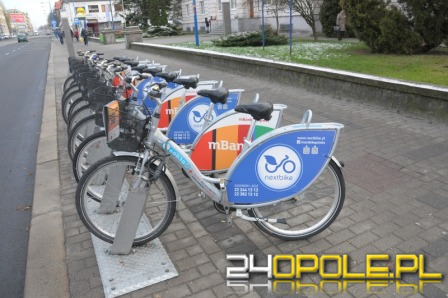 Od marca będzie więcej stacji miejskich rowerów