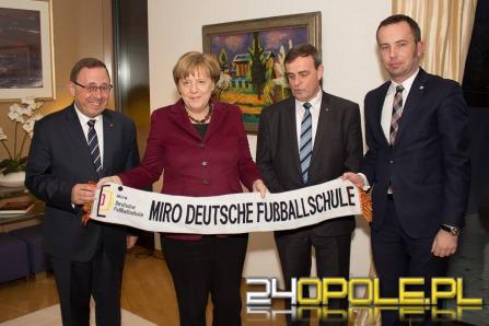 Mniejszość niemiecka spotkała się z Angelą Merkel