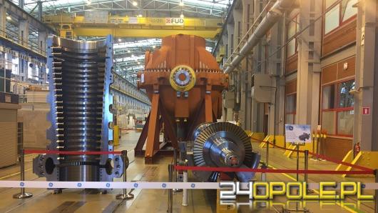 Nowy sprzęt w drodze na budowę opolskiej elektrowni