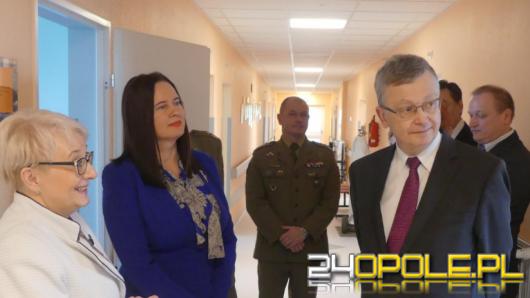 Więcej zabiegów i nowy oddział w szpitalu wojskowym