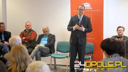 Rzecznik Praw Obywatelskich spotkał się z mieszkańcami Opola