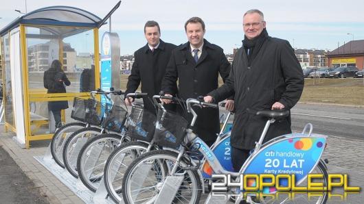 Miejskie rowery powróciły na ulice Opola. Są też nowe stacje wypożyczalni.