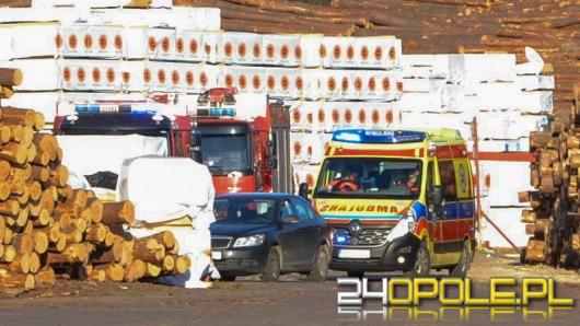 Śmiertelny wypadek przy pracy w tartaku w Murowie