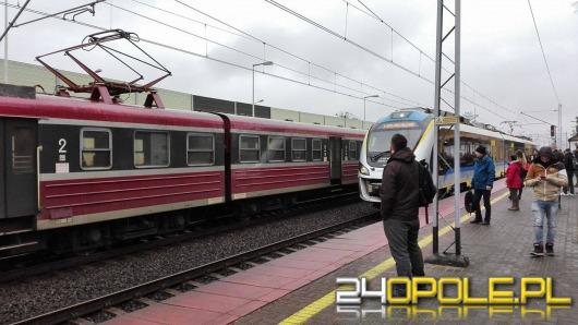 Pijana kobieta wpadła pod pociąg w Lewinie Brzeskim