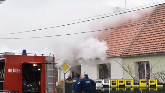 Tragiczny pożar domu jednorodzinnego w Brzegu