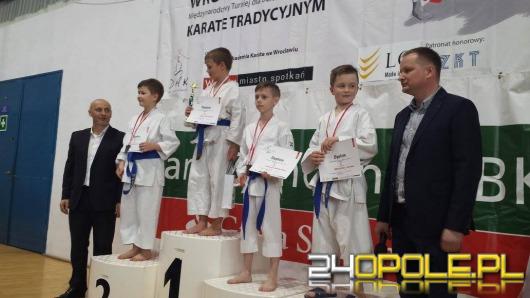 Opolscy karatecy z medalami
