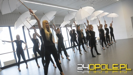 Kandydatki na Miss Opolszczyzny ćwiczą układy choreograficzne