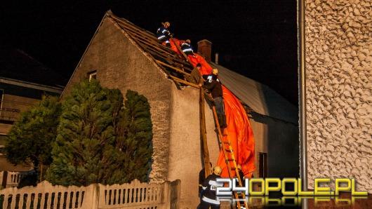 Wichura zerwała dachy i uszkodziła linie energetyczne