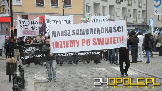 Marsz Samorządności przeszedł ulicami Opola