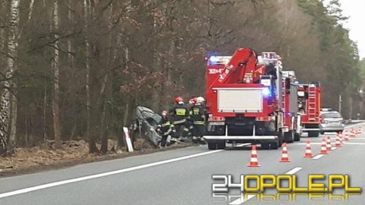 40-latek zasnął za kierownicą audi. W wypadku ucierpiało dziecko.