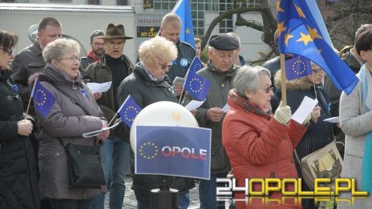 Opolanie wspólnie odśpiewali hymn Unii Europejskiej