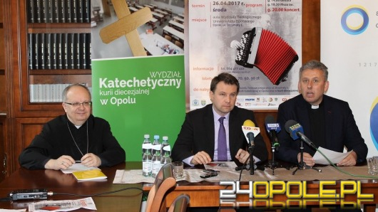Marcin Wyrostek zagra koncert charytatywny w Opolu