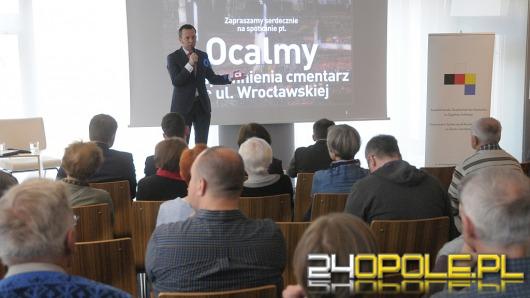 Miasto chce ocalić cmentarz przy ul. Wrocławskiej od zapomnienia