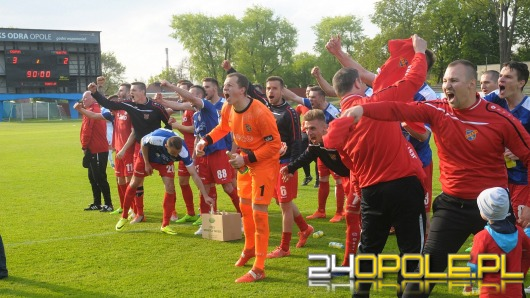 Odra po 8 latach powraca na zaplecze Ekstraklasy