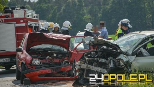 Nietrzeźwy kierowca sprawcą wypadku pod Komprachcicami