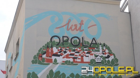 Mural na 800-lecie Opola gotowy