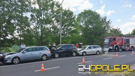 Karambol 5 samochodów na ul. Wrocławskiej