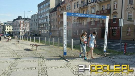 Na ulicach Opola działają już kurtyny wodne