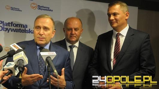 Grzegorz Schetyna w Opolu o samorządzie, festiwalu i kandydacie na prezydenta