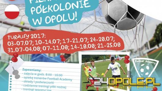 Trwają zapisy na letnie piłkarskie półkolonie Football Academy Opole!