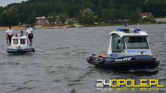 Policyjni wodniacy rozpoczęli służbę na opolskich akwenach