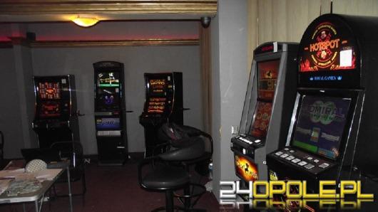 Nielegalny salon gier w Głubczycach zlikwidowany