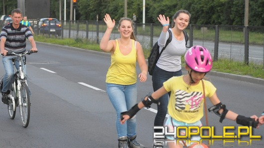 Rolki i rowery opanowały dziś Opole. Za nami Oficjalny Opolski Nightskating