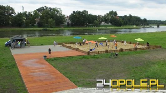 Miejska plaża w Opolu do likwidacji. Co powstanie w zamian?