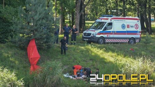 Kolejna tragedia nad wodą. W Grodkowie utonął mężczyzna.