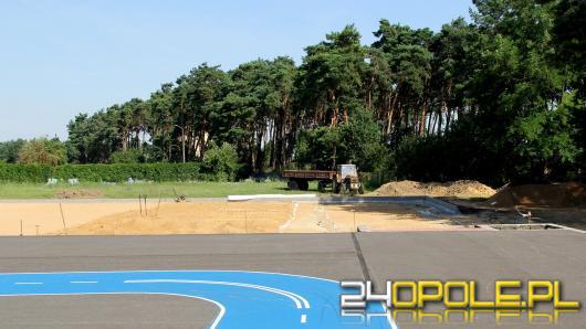 W Krapkowicach powstaje boisko za 1,5 miliona złotych