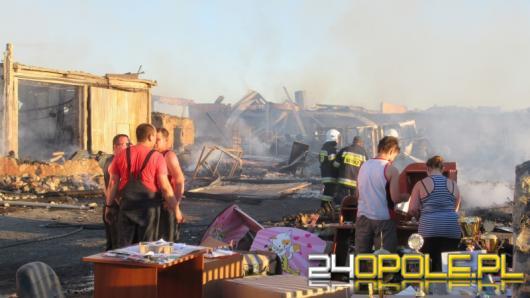 Ogromne straty po pożarze tartaku pod Prudnikiem